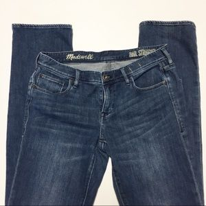 Madewell Rail Straight Jeans Sz 30x32